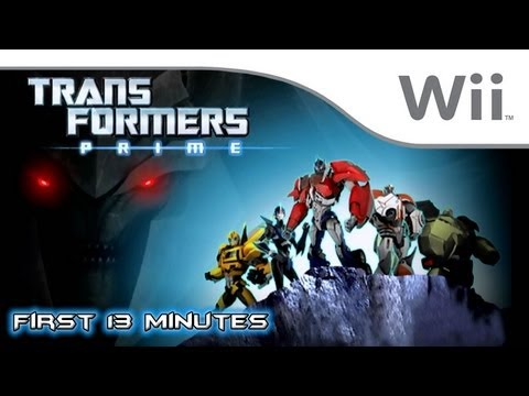 transformers prime the game wii