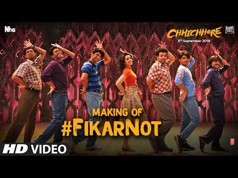 Making Of Fikar Not Video | Chhichhore