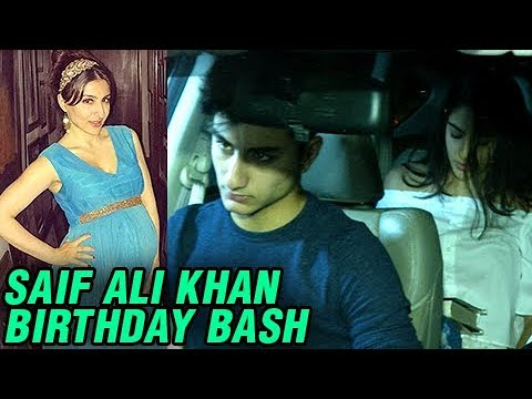 Pregnant Soha Ali Khan, Sara Ali Khan, Ibrahim Kha