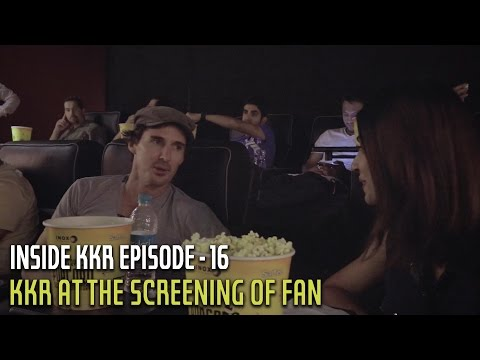 KKR at the screening of FAN | Inside KKR - Episode 16 | VIVO IPL 2016