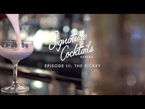 Signature Cocktails Series: Episode III The Rickey at Dream Midtown