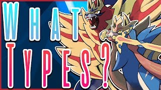 What Types Will Zacian and Zamazenta be? Pokémon Sword and Shield by HoopsandHipHop