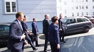 Premier Beata Szydło przegoniona w Szczecinku!