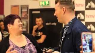 Sam Smith meets fans @ hmv Manchester Arndale Centre