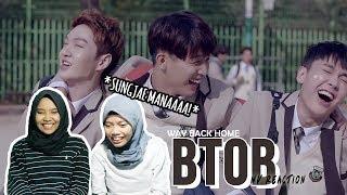 Video BTOB(비투비) - Way Back Home(집으로 가는 길) [MV Reaction Indonesia] MP3, 3GP, MP4, WEBM, AVI, FLV Agustus 2018
