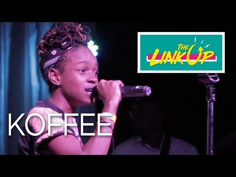 Koffee Live At The Link Up, Kingston, Feb 2018