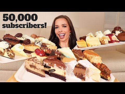 EATING EVERY SINGLE CHEESECAKE FROM THE CHEESECAKE FACTORY