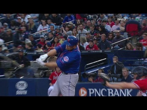 Video: NYM@ATL: Duda drills a solo homer in the second