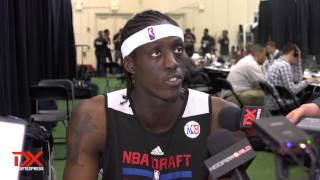 Tony Snell Draft Combine Interview