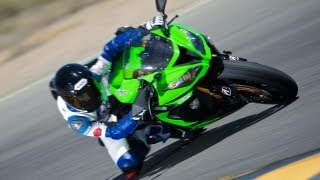 9. 2013 Supersport Track Shootout: 2013 Kawasaki ZX-6R