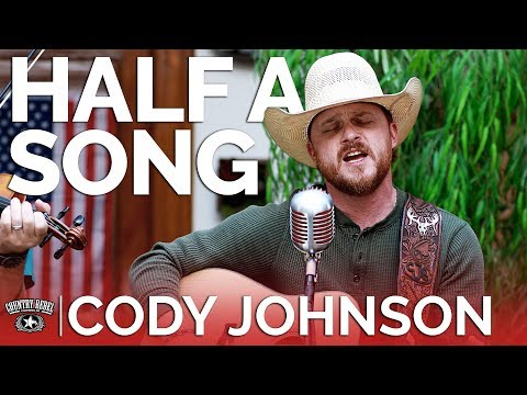 Video Cody Johnson - Half A Song (Acoustic) // Country Rebel HQ Session download in MP3, 3GP, MP4, WEBM, AVI, FLV January 2017