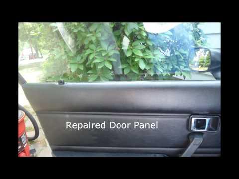 1981 Mazda RX7 Seat/Door Panel Repair Results