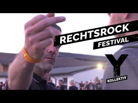 """Rechtsrock: Das """"SS""""-Festival in Sachsen und die Gegendemonstration"""