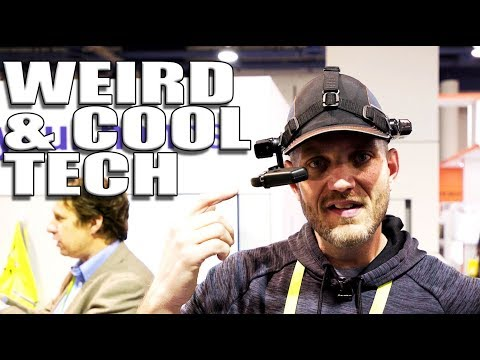 Weird / Cool Tech from CES 2018 (видео)