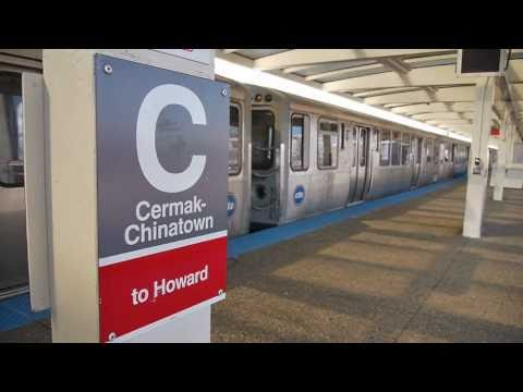 Riding the Red Line: Cermak / Chinatown