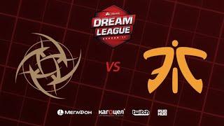 NIP vs Fnatic, DreamLeague Season 11 Major, bo3, game 2 [4ce & Mila]