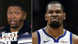 By the time KD returns, it will be too late for the Warriors - Jalen Rose   First Take