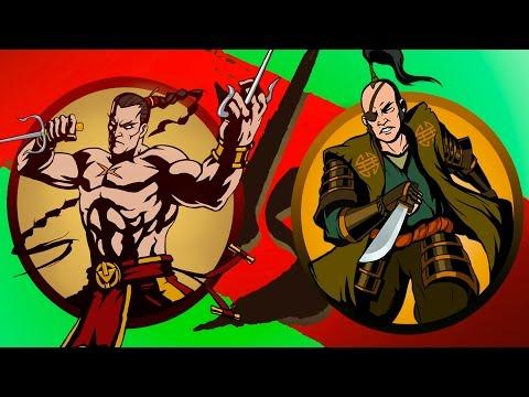 Shadow Fight 2 35 игровой мультик для детей про БОЙ с тенью 2 детское видео игра от KID