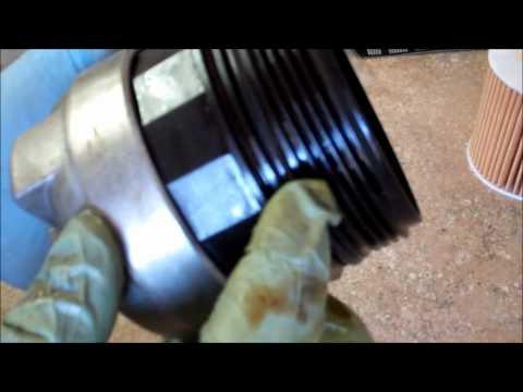 2004 Volvo XC90 2.5T FWD Engine Oil Change
