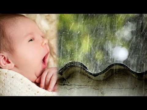 Zvuky deště. Bílý šum - zvuk k uspávání dětí
