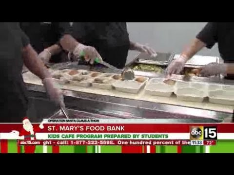 St. Mary's Kids Cafe helping at-risk kids