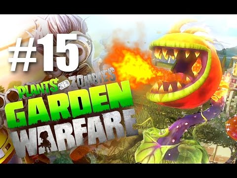 ДРАКОША! #15 Plants vs Zombies: Garden Warfare (HD) играем первыми