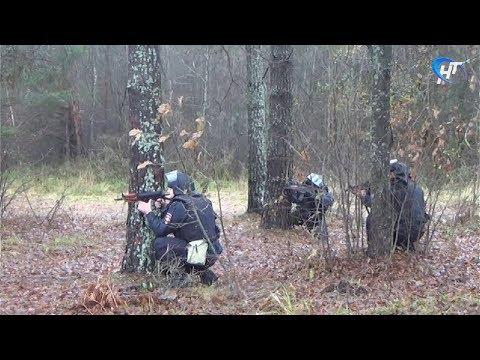 Новгородские силовики провели совместные учения в Солецком районе