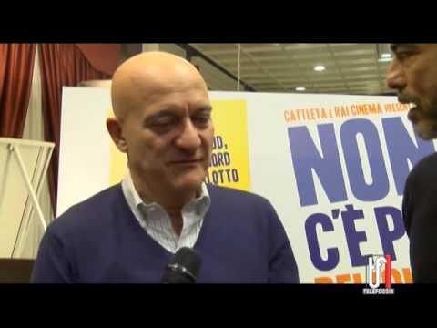 CLAUDIO BISIO E ALESSANDRO GASSMAN A FOGGIA: LE INTERVISTE