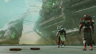 Here's how to climb through the world and explore a possibly Lost Sector beyond the map on Nessus in the beta for Destiny 2.