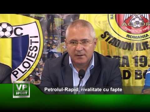 Petrolul-Rapid, rivalitate cu fapte