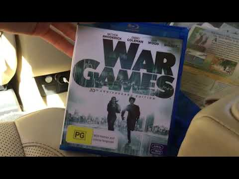 War Games Bluray Unboxing