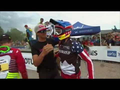 downhill world cup 2015 windham - aaron gwin winning run