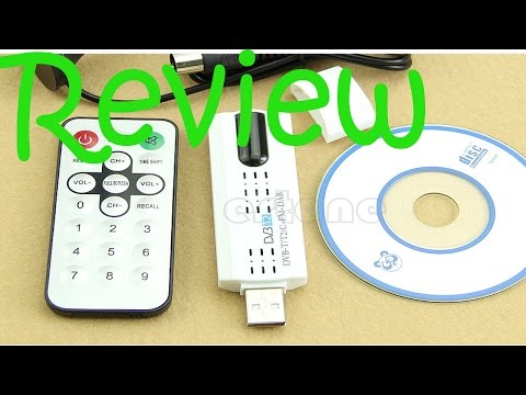 Review // Digital HDTV Stick Tuner Receiver + FM + USB Dongle DVB-T2 / DVB-T / DVB-C