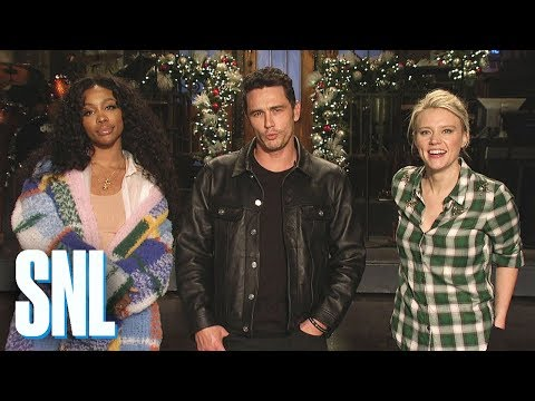 James Franco and Kate McKinnon Get Beaten by SZA - SNL