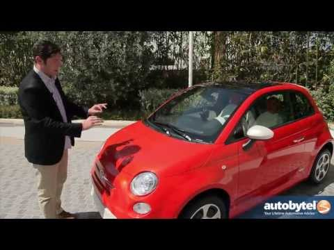 2013 Fiat 500e EV Video Review