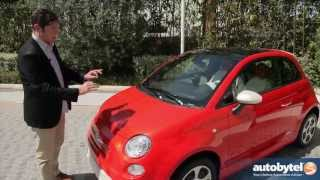 2013 FIAT 500e Test Drive&Electric Car Video Review