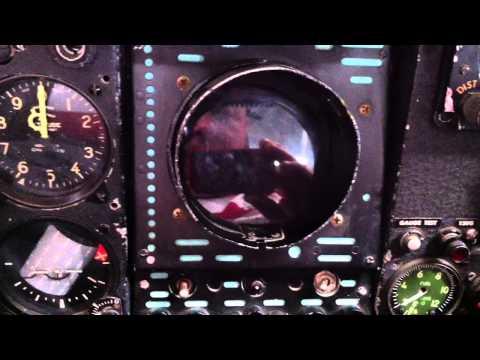 Instrumentation of a Dassault Mirage...