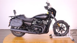 8. 2015 Harley Davidson Street 750
