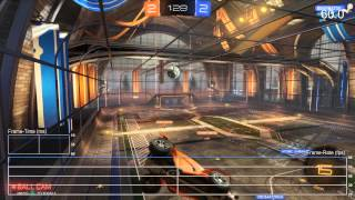 [60fps] Rocket League PS4 - 3v3 Frame-Rate Test