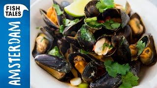 Red Curry MUSSELS | Bart van Olphen by Bart's Fish Tales