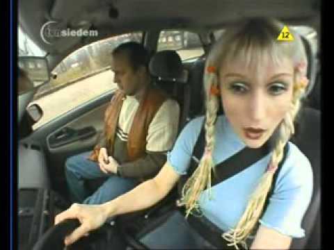 Блондинка сдает на права МЕГА ЖЕСТЬ Смотреть обязательно - DomaVideo.Ru