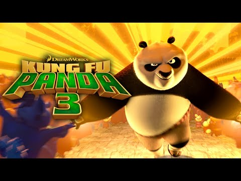 Jack Black Is Back In KUNG FU Panda 3. Trailer.