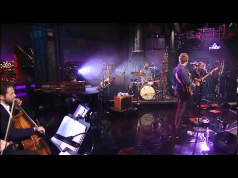 Glen Hansard Live on Letterman 12-12-13