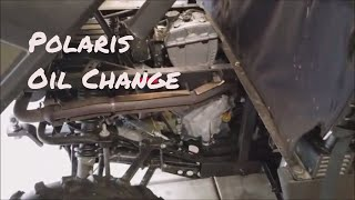 5. Polaris 570 Oil change