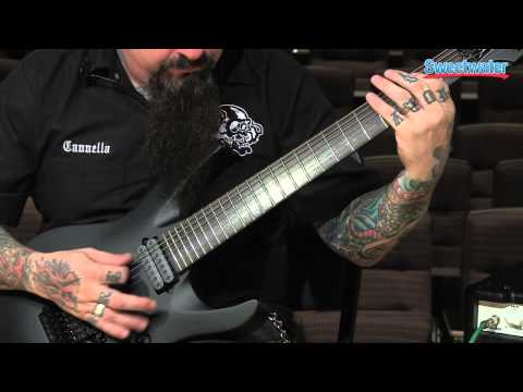 Jackson Chris Broderick Pro Series Soloist 7 Electric Guitar Demo - Sweetwater Sound