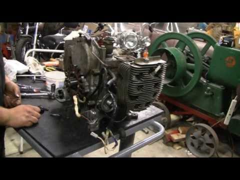 Onan - Had to teardown and repair this Blown 20 HP Onan Engine on Lil Racers Lawn Tractor.
