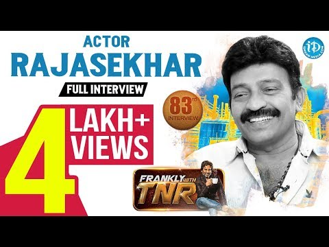 Actor Rajasekhar Exclusive Interview | Frankly With TNR #83