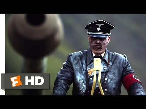Dead Snow: Red vs. Dead (2014) - Zombies vs. Goth vs. Tank Scene (6/10) | Movieclips