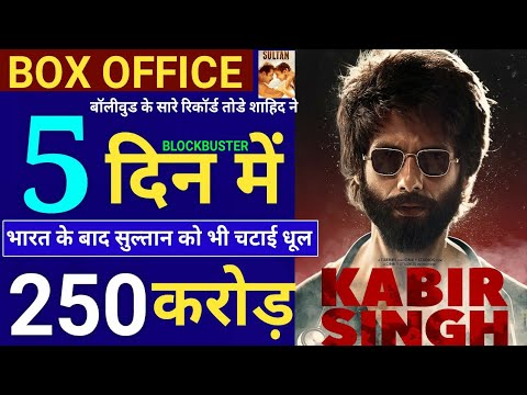 Kabir Singh 5th Day Collection, Kabir Singh Box Office Collection Day 5,Shahid Kapoor, Kiara Advani
