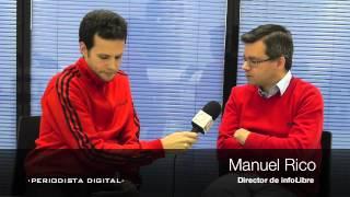 """Manuel Rico: """"Hemos caído en la idea de que la información en Internet es gratis y eso no es así"""""""